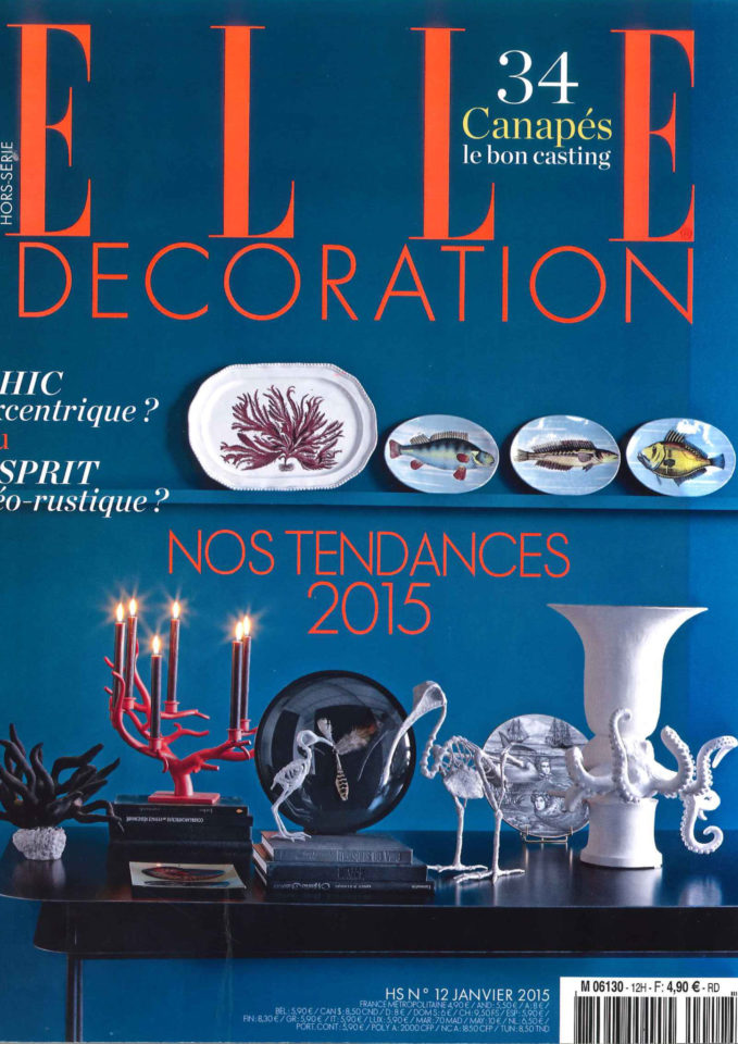Elle Decoration 2015 Cover