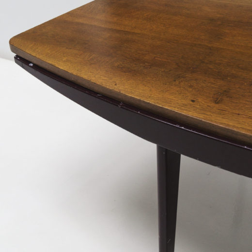 Standard desk, curved variant by Jean Prouvé ca 1946