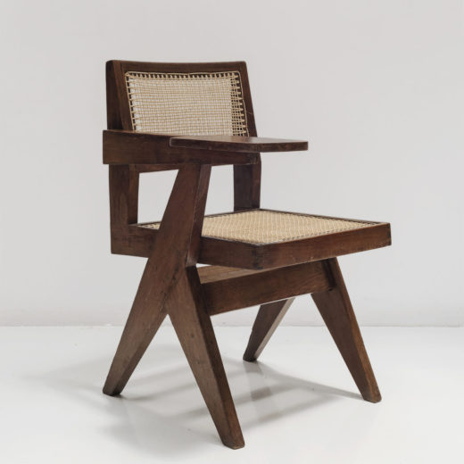 Writting Chair circa 1960 by Pierre Jeanneret