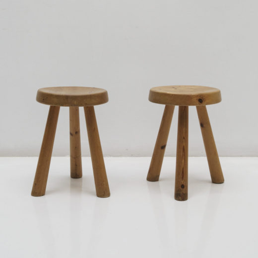 Stool by Charlotte Perriand, ca. 1947, France