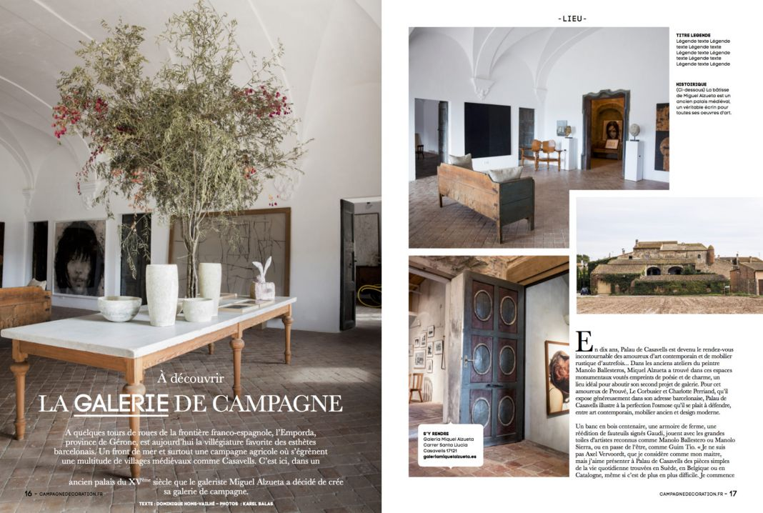 Campagne Decoration France - Lieu Galerie