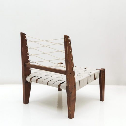 Desmountable easy chair, Candigarth, India