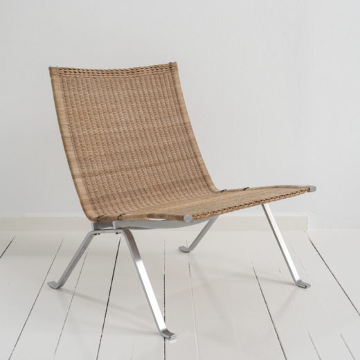 PK22 Chair in rattan by Poul Kjaerholm