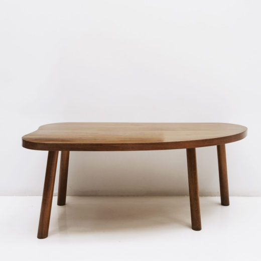 Maurice Pre & Janette Wash free-form table in wood