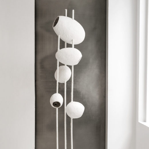 """Cocoon"" Floor Lamp by Jacques Darbaud"
