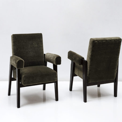 Committee Armchairs by Pierre Jeanneret