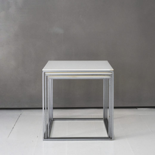 PK71 Nesting Tables by Poul Kjaerholm