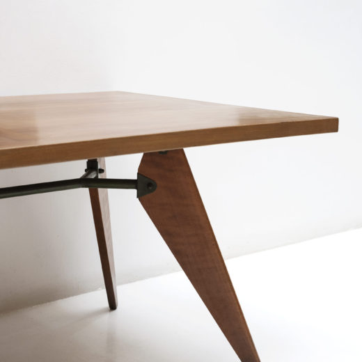 S.A.M wood table by Jean Prouve